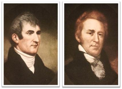 expedição de meriwether lewis e william clark nos estados unidos da américa
