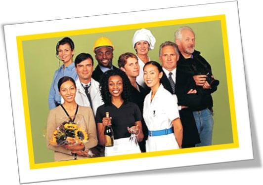 jobs and occupations, empregos e profissões em inglês