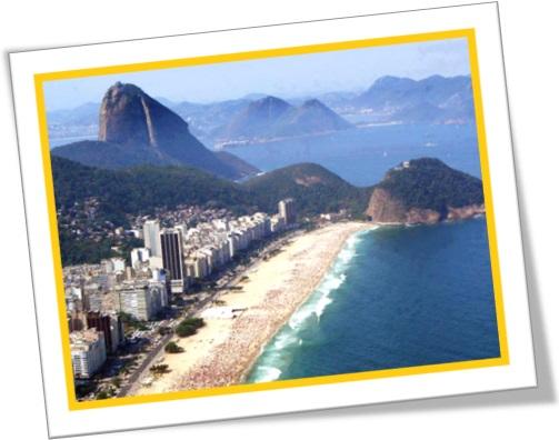praia de copacabana, pão de açúcar, beach, sugar loaf