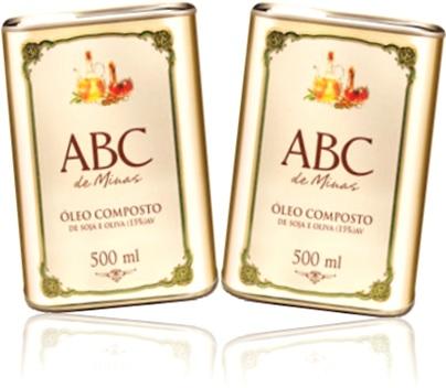 óleo composto de soja e oliva abc de minas inco