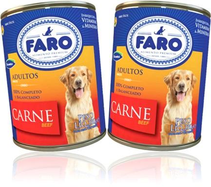 ração canina faro para cães adultos, alimento cachorro