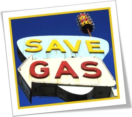 save gas, economize gás, poupe gasolina