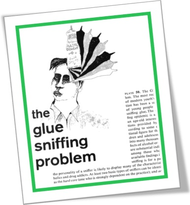 the glue sniffing problem, o problema do cheirar cola