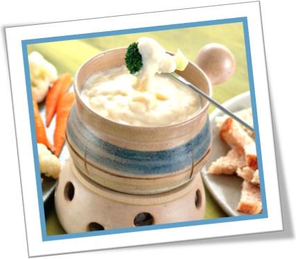 fondue de queijo, aparelho de fondue, jogo de fondue