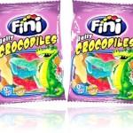 bomboniere, balas, doces, guloseimas, fini jelly crocodile fat free