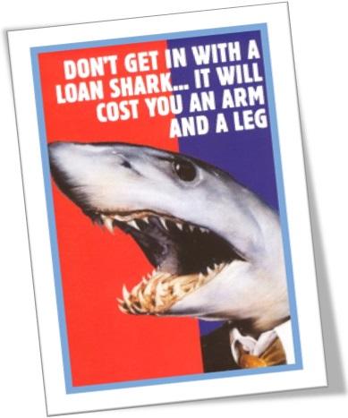 loan shark, agiota, agiotagem