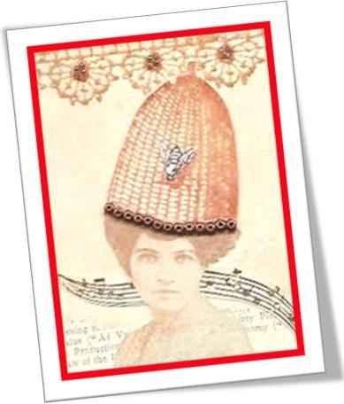 she has a bee in her bonnet, mulher obcecada por uma ideia fixa
