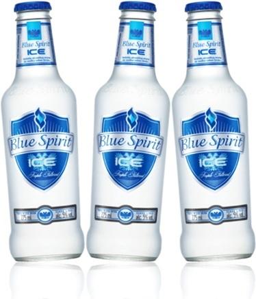 vodka blue spirit ice