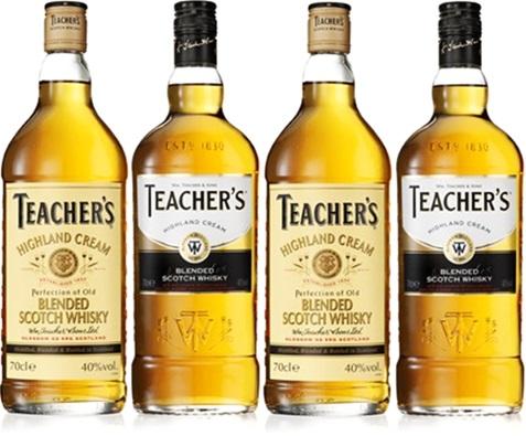 blended scotch whisky teachers, uísque escocês