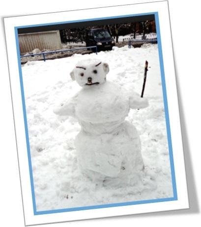 boneco de neve triste, freeze someone out, dar um gelo em alguém