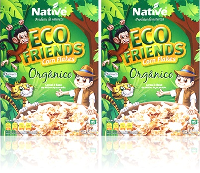 cereal corn flakes eco friends native