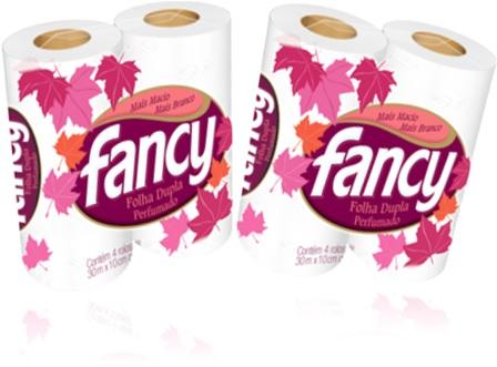 fancy papel higiênico perfumado folha dupla