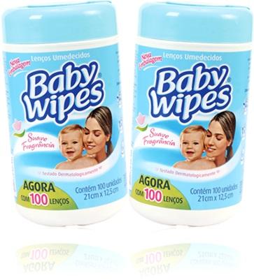 lenços descartáveis umedecidos baby wipes para limpeza de bebê