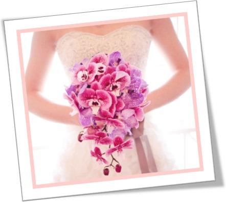 noiva carregando buquê de orquídeas, posy, bouquet, nosegay, casamento, flores