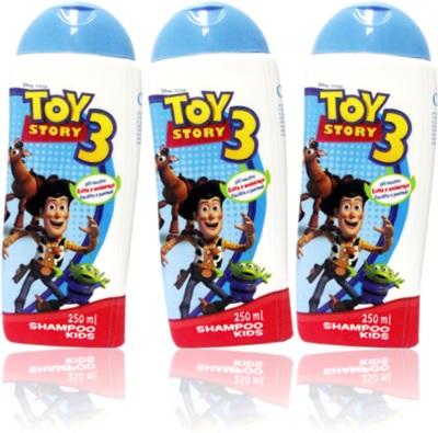 shampoo kids toy story 3, opus cosmeticos, shampoo infantil, criança