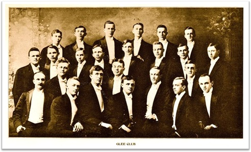 glee club, coral, the miami university glee club in 1907