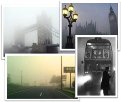 pea soup fog, foggy londrino, nevoeiro, neblina, fumaça, cidade de londres