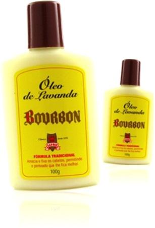 óleo de lavanda bourbon, amaciante de cabelo, penteado