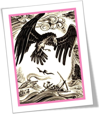 ave roca, simbad o marujo, the roc and simbad the sailor, literatura persa, 1001 noites