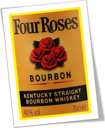 uísque dos estados unidos, four roses, bourbon whiskey, kentucky straight