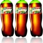 new age bebidas, refrigerante country sabor guaraná, tubaína, lanche