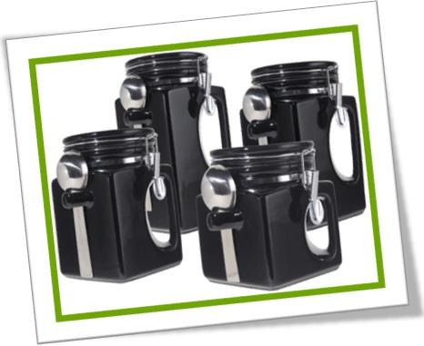 airtight container pote de guardar biscoito hermético