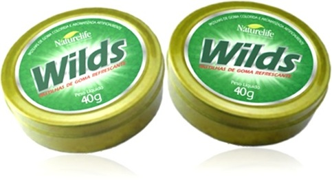naturelife wilds pastilhas de goma refrescante sabor eucalipto