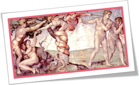 original sin, afresco, pintura de michelangelo, teto da capela sistina