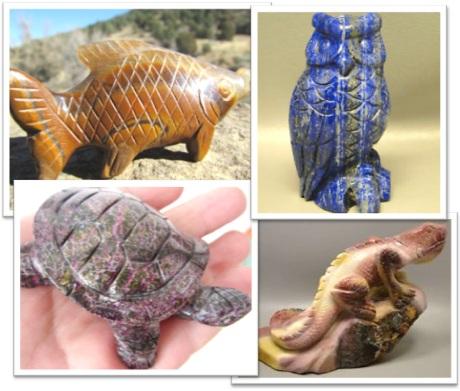 momento, memento, stone animal carvings, esculturas de animais de pedra, suvenir, lembrança