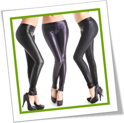 mulheres vestindo tight leather pants calça de couro justa