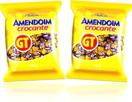 confeitos, balas de amendoim torrado, crocante GT pádua, parati gt