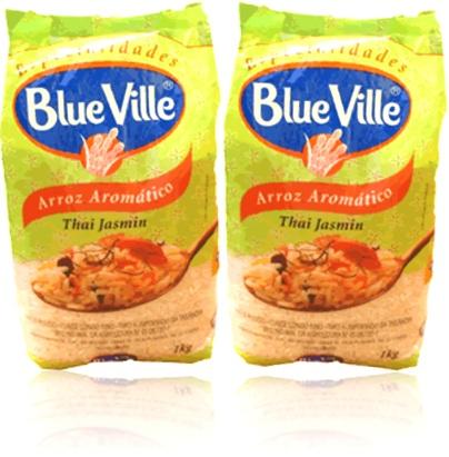 especialidades blue ville arroz aromático thai jasmin, refeição, almoço, jantar