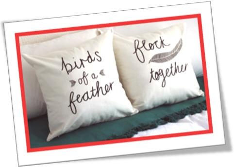 birds of a feather flock together, cada qual com seu igual