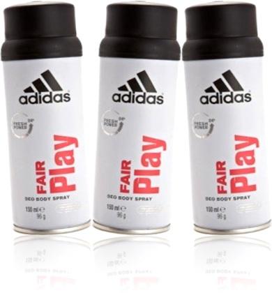 desodorante corporal adidas fair play jogo limpo jogo bonito