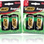 pilhas comuns, tamanho d, baterias, bic super, não alcalina, descarga, energia