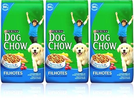 alimento ração purina dog chow filhotes comida de cachorro