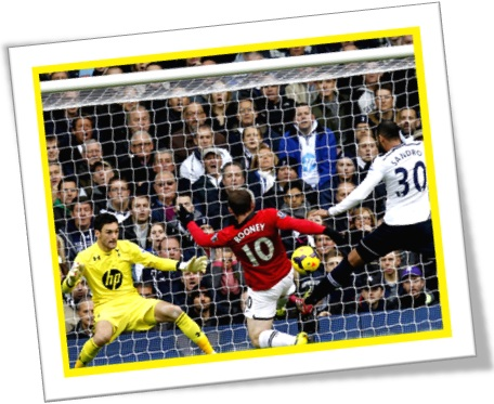 rooney shot at goal chute à gol futebol goleiro zagueiro atacante