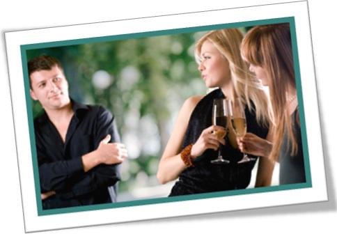 homem mulheres festa sedução namoro encontro bebida evento social