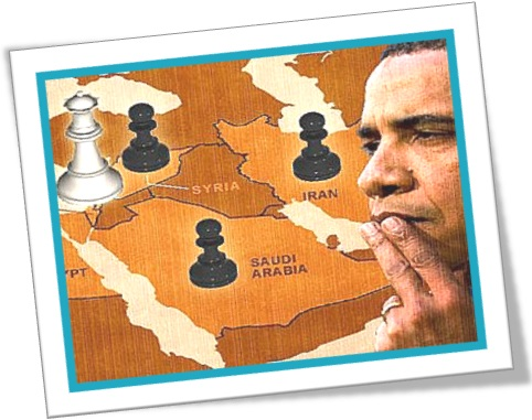 jogo de xadrez barack obama oriente médio síria irã arábia saudita