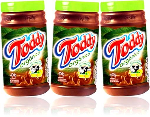 bebida quente achocolatado toddy orgânico chocolate em pó grogue ponche