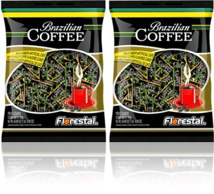 drops brazilian coffee hard candy balas sabor café brasileiro doces confeitos