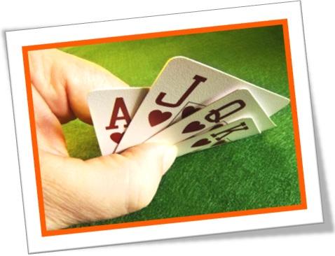 cards ace, jack, queen and king jogo de baralho às dama valete e rei