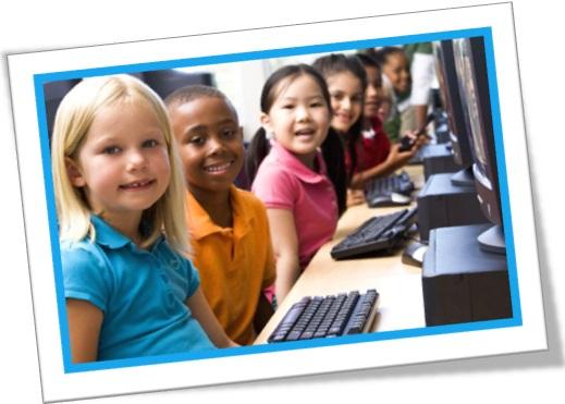 crianças, computadores, escola, aula de computação, colégio, aprendizado, informática, champing at the bit