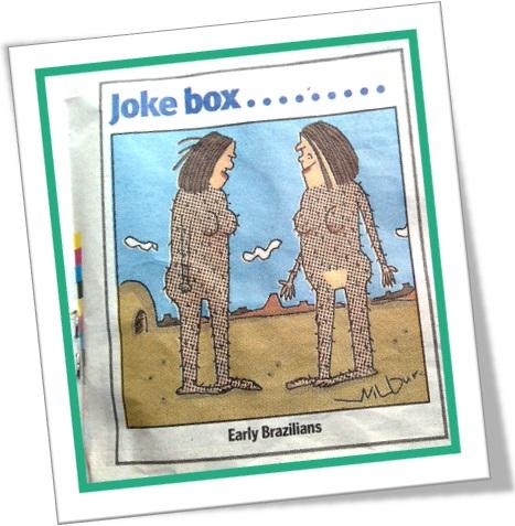 charge joke box early brazilians wax depilação com cera quente