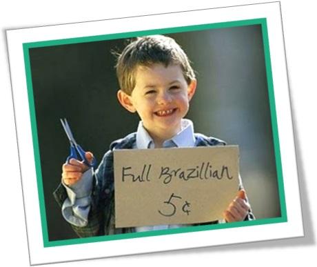 full brazilian wax prices, garoto faz depilações com tesoura