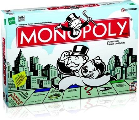 jogo de compra e venda de propriedades monopoly hasbro brasil banco imobiliário