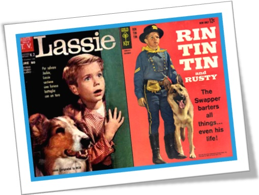 lassie and rin tin tin magazines champs champion dogs book tv series