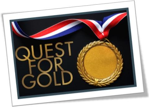 quest for gold, corrida ao ouro, busca do ouro, medalha de ouro