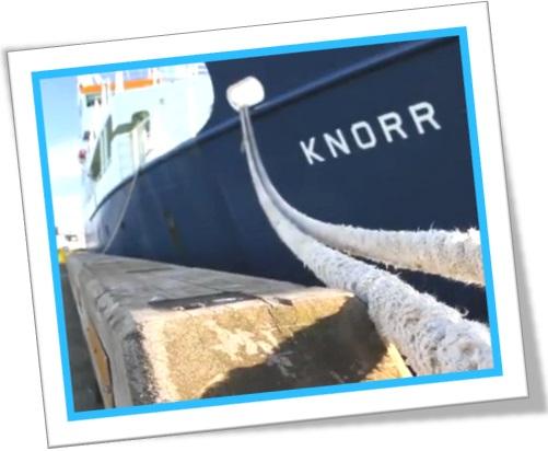 research vessel knorr, marinha dos estados unidos, atracação no porto, cais