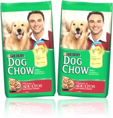 ração alimento para cachorro adulto purina dog chow